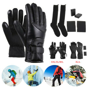 Winter Warm Gloves and Socks Touch Screen Waterproof Anti-slip for Driving Sport