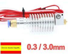 Hotend J Head Extrusor Metal 0.3mm 3.0 E3D Long-Distance Prusa 3D Printer I0083
