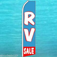 Rv Sale Flutter Flag Vertical Advertising Sign Feather Swooper Bow Banner Camper