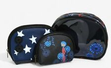 NWT! Loungefly 3-piece Coraline Cosmetic Bag Set~Makeup Case BoxLunch