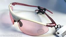 Occhiali SALICE donna rosa pink woman ciclismo sport white sunglasses bike