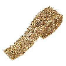 Crystal Rhinestone Ribbon Twinkle Diamond Mesh Wrap Banding Wedding 1 Yard