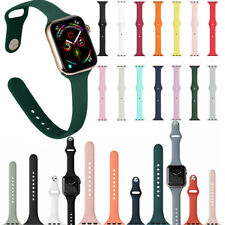 Silicone Replacement Band Loop Armband For Apple Watch Serie 4 3 2 1 Wrist Strap