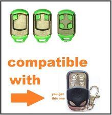 TAU 250-SLIM, TAU 250-K-SLIM Universal garage gate remote control 433.92mhz