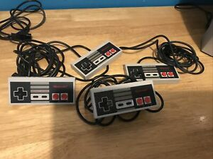 Official Nintendo NES Controller NES-004E x4