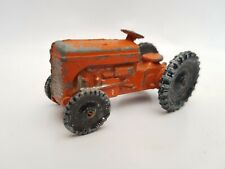 Vintage Benbros Qualitoys Ferguson Tractor orange type 2 with black wheels