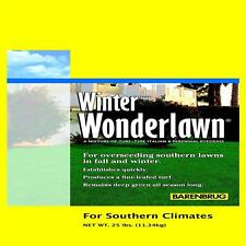 Winter Wonderlawn Grass Seed 25 lb. for Southern Climates Mixed Grass Type Seed
