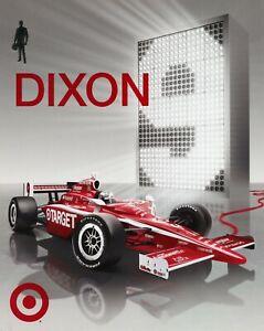"""2009 INDY 500 SCOTT DIXON NEW ZEALAND GANASSI RACING INDYCAR 7""""X 9"""" HERO CARD"""
