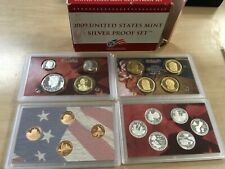 2009 Silver Proof Set with US Mint Original Government Packaging Box COA