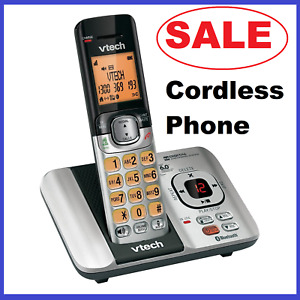 Cordless Phone Home NBN OK Cord Free Office Handset Dect Home Bluetooth Connect
