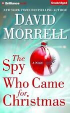 THE SPY WHO CAME TO CHRISTMAS unabridged audio CD by DAVID MORRELL - Brand New!