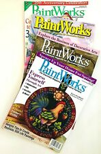 4 Paint Works Magazine Tole Decorative Painting Projects with Patterns #6