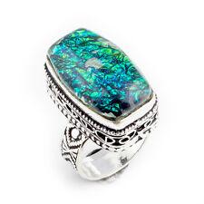 Australian Triplet Opal Gemstone Handmade 925 Stamped Ring Jewelry 7 Size 3386