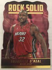 Shaquille O'Neill (SHAQ) Rock Solid Studio 2016-2017 NBA Basketball Card (RS-SO)