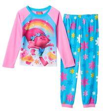 DreamWorks Trolls Poppy Rainbow Pajama Set Size 8 NWT $36 Retail