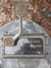 Vintage 60's Cabometer Taxi Meter