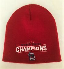 St Louis Cardinals Sport Knit Hat; Skull/ Stocking Cap; 2006 World Series Champs