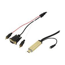 LOGILINK CAVO ADATTATORE CONVERTITORE DA HDMI A SEGNALE ANALOGICO CV0052