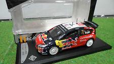 CITROËN C4 WRC RALLYE IRELANDE 2009 LOEB RED BULL 1/43 SOLIDO voiture miniature
