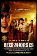 Beer for my Horses  Orig Double Side Movie Poster 27x40
