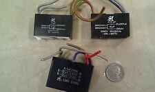 8T04 CAPACITORS, 2 COMBOS, 6 ACTUAL, 250V CLASS: 4.5 + 6, 5, 4.5 + 5 + 6MF, VGC