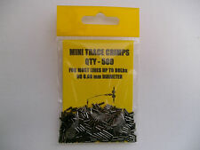 BROCHET / pêche en mer : 500 X mini trace Sertissures 5mm long x O.80mm alésage