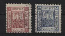 Deutsche Post in Polen Lokalausgabe Przedborz 1-2 A gestempelt (B04132)