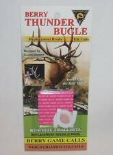 Berry Thunder Bugle Game Elk Call Replacement Reeds Thin RT-White Small Bull