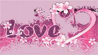 Cross Stitch Chart Pattern Love & Frangipani
