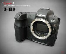 Lim'S Genuine Leather Camera Half Case & Dovetail Plate For Canon Eos R Eosr Bk