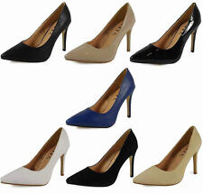Stiletto Court Synthetic Leather Formal Shoes for Women