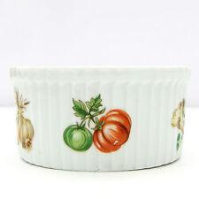 Apilco Ramekin PLATO Retro Vintage Patrón de verduras