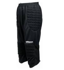 Uhlsport CLASSIC 3/4 PANT LONG SHORT Pro Soccer Goalkeeper Shorts portero XXL