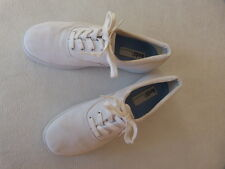 Keds Vintage Women's Relaxed Fit White Walking Tennis Sneakers Shoes 7
