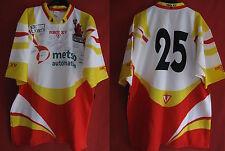 Maillot Rugby Martigues Port de Bouc dedicacé Vintage Shirt Porté Match - XXL