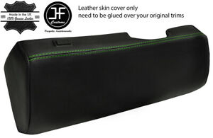 GREEN STITCH DRIVER UNDER DASH TRIM LEATHER COVER FITS BMW 6 E24 HIGHLINE L6