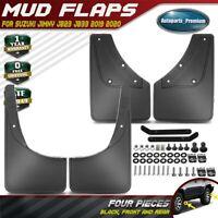 4PCS Black Splash Guards Mud Flaps Mudguard for Suzuki Jimny JB23 JB33 2019 2020