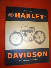 1903-1993 HARLEY-DAVIDSON HISTORIC OVERVIEW  PRINTED BY H-D