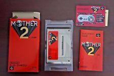 Super Famicom SFC Mother 2 (Mother EarthBound) boxed Japan import game US Seller