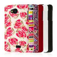 for LG Optimus F60 / Transpyre / Tribute Hard Rubber Coated Protector Case Cover