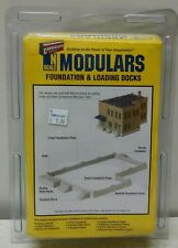 Walthers Cornerstone N Scale Modulars - Foundation & Loading Docks
