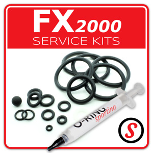 FX 2000 Axsor Black Widow Gemini Tarantula Timberwolf O-Ring seal service kit