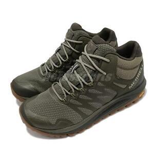 Merrell Nova 2 Mid Waterproof Vibram Green Men Outdoors Hiking Shoes J035581