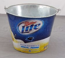 Collectible 2010 Miller Lite NFL Football Carolina Panthers Beer Ice Bucket