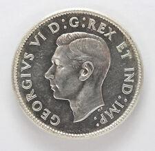1945 Canada Silver 25 Cents George VI km35  - CH BU #01281927g