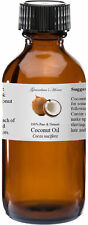 Coconut (Virgin) Oil - 4 oz - 100% Pure and Natural - Free Shipping - US Seller