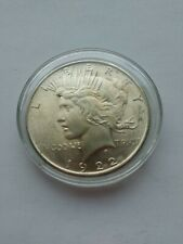 1922  Peace Silver Dollar Philadelphia Mint BU Free Shipping
