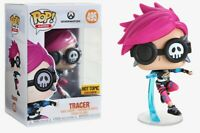 OVERWATCH VIDEO GAME TRACER PUNK POP #495 VINYL SPECIAL EDITION FIGURE FUNKO MIB