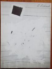 Roger Raveel - Werken op papier 1956 - 1960 - Roland Jooris - 1982