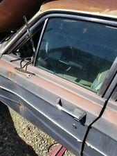 1965 1966 Ford Galaxie Mercury Monterey 4 Dr Sedan Wagon Left Front Door Window